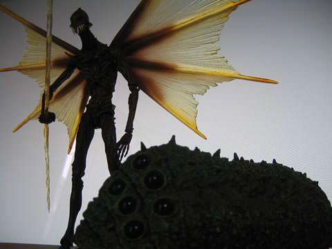 巨神兵と王蟲