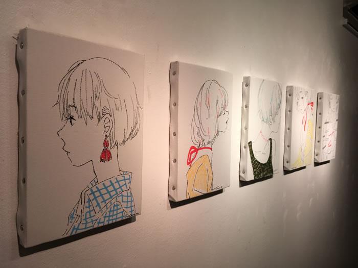ゆのさんの個展「28」展