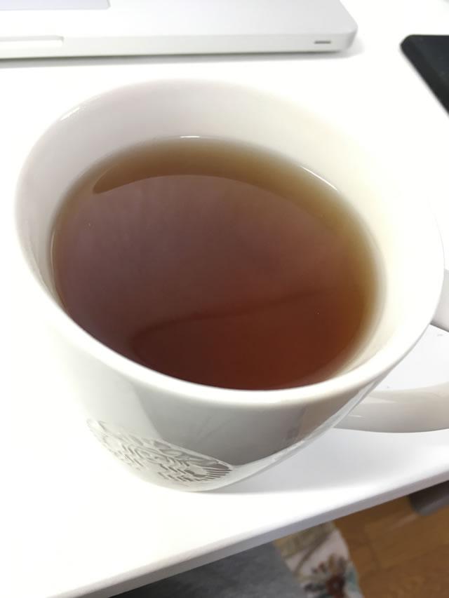 なた豆茶を飲む