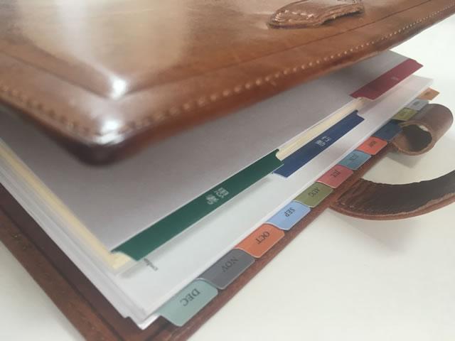 熊谷手帳とフランクリン・プランナー