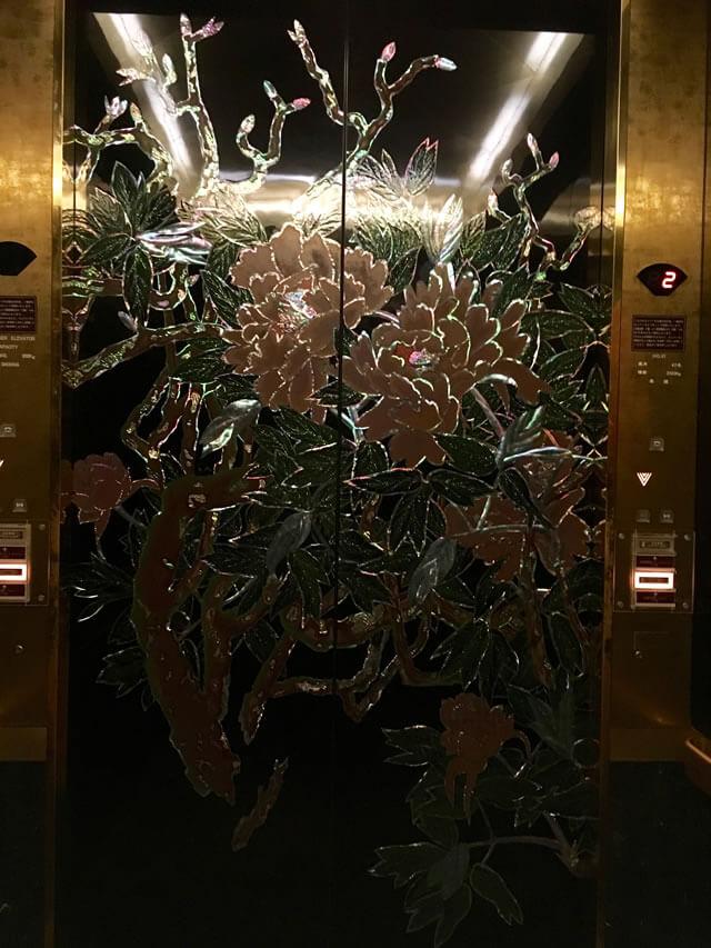 ホテル雅叙園東京エレベーター