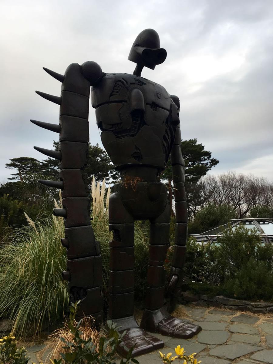 ジブリ美術館のロボット兵