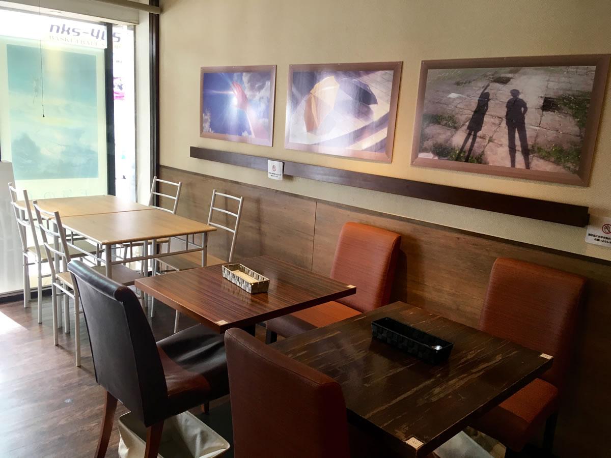 天気の子カフェ