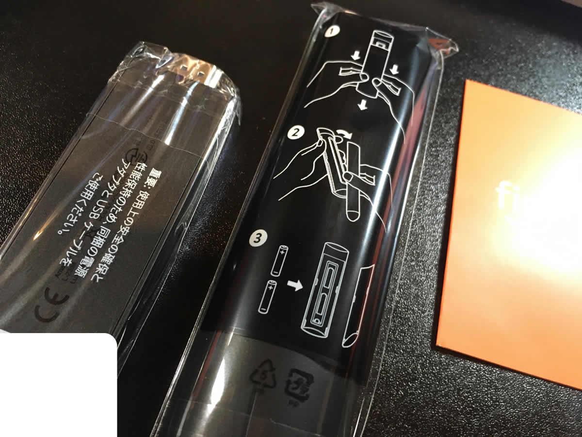 Fire TV Stickは、リモコンの電池カバーが開けにくい