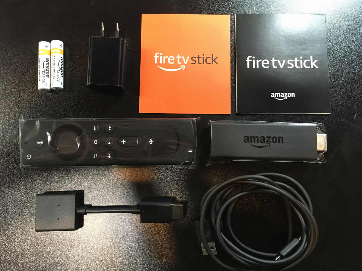 Fire TV Stick開封