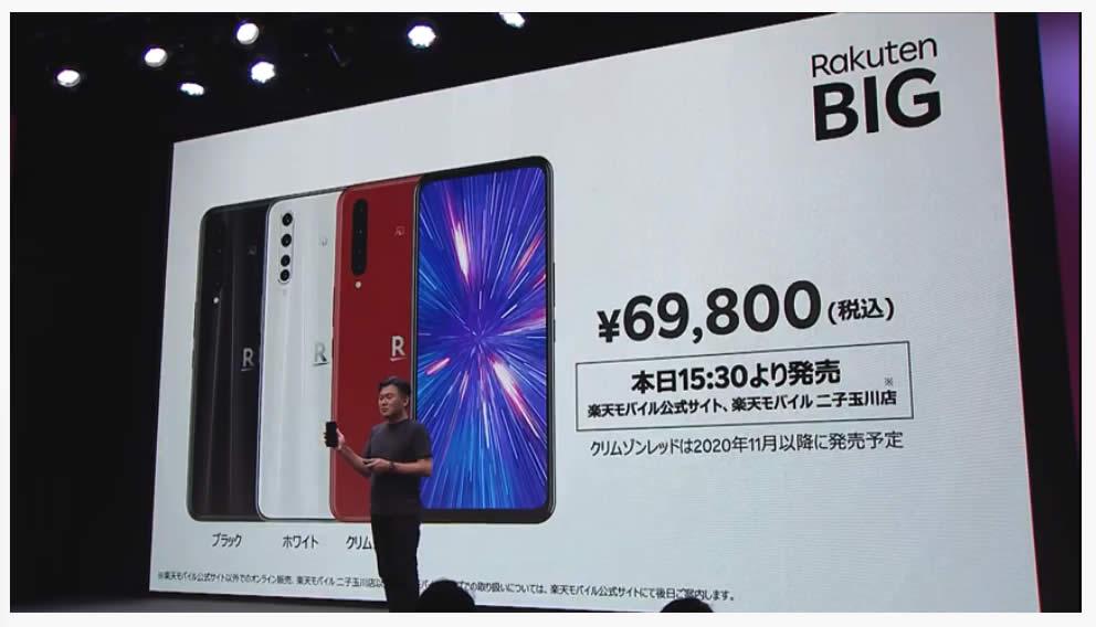 楽天モバイル5G料金